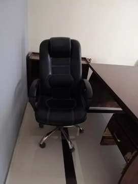 Revolving office chairs and sofa set