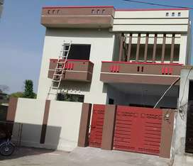 Double storey house in Oficers Colony