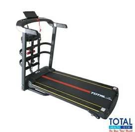 Treadmill elektrik alat fitnes total murah bisa COD bergaransi resmi