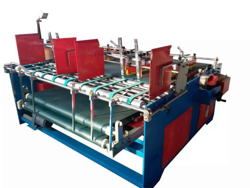 Mesin Lem samping & Lipat Karton Box / Press Type Folder & Gluer 0