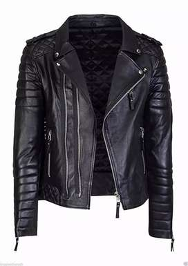 Men high quality fuax leather jacket