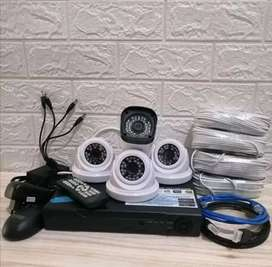 Paket pasang lengkap 2mp CCTV Bandung