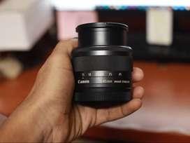 Canon 15- 45mm  EF-M lens, f3.5-6.3, IS, STM.