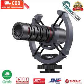 MIC-VM02 Telesin Mikrofon Directional Condenser Shotgun Microphone