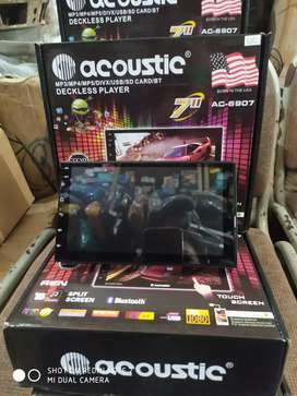 Tv android 7 inch ram 4 rom 64 Acoustic ( Megah top )
