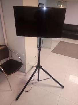 Lcd led tv floor portable stand