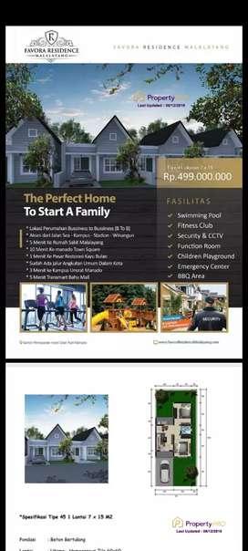 Favora Residence Malalayang Manado Free Biaya² bphtb akad blk nama