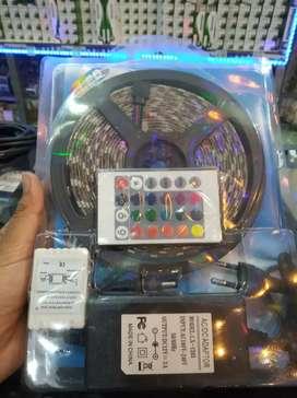 Led Strip (RGB SMD 5050) Murah Keren Sudah 1 set.