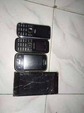 Samsung basic model, lava-flair, pel phone