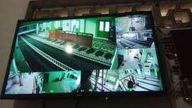 paket kamera 2mp spc  kamera indoor/outdoor resolusi tinggi 2 Mp