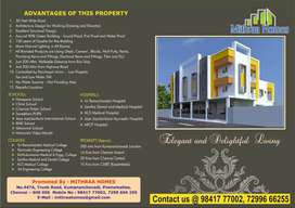 Apartment sale just 300 meters from kumananchavadi junction