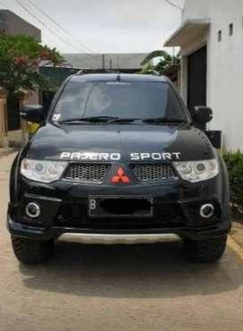 Pajero Sport 2011 tipe Dakar mobil pakaian
