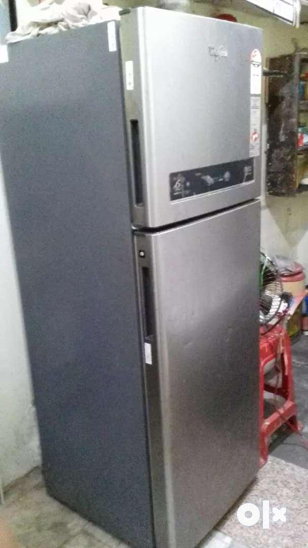 Whirlpool original high cooling double door refrigerator 0