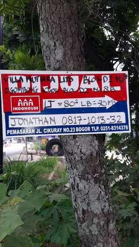 Disewa Rp 50 Jt/th LT 120 m2 LB 250 m2 Ruko Villa Mutiara Lido R3 No 9