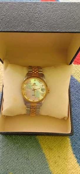 Jam tangan merk aries gold