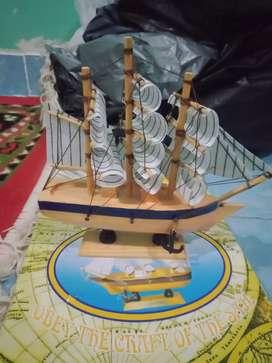 Kapal.layar hiasan miniatur