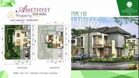 Rumah 2 lantai di kawasan Kota Manado Baru