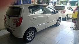 Daihatsu Ayla X matic Automatic 2020 putih, asli Bali