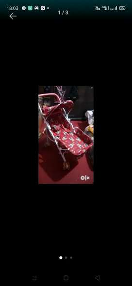 Baby items stroller jhula