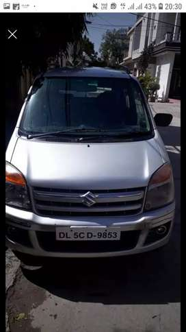 Wagon r lxi 2009 model petrol + cng on rc