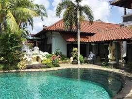 Tanah di jimbaran bawah, bonus villa dan tempat usaha