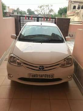 Good Conditioned Well Maintained Toyota Etios