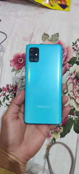 Samsung A51 with all accessories
