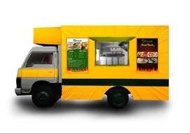 Mahindra Loadking 2014 model ( Food truck )