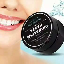 Charcoal Powder Activated Teeth Whitening /pemutih gigi memutihkan iw1