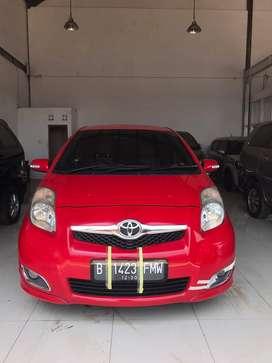 Toyota Yaris E Matic 2010 Warna Merah Sangat Istimewa