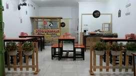 Meja kursi kedai/cafe/warung/pujasera