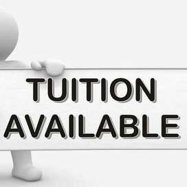 Tuition offered for 5th to 10th Class students