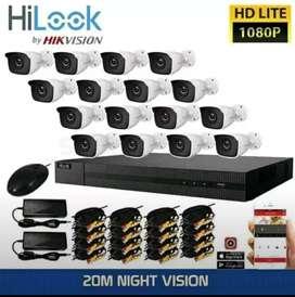 Paket lengkap CCTV harga murah kamera 2 MP/ ready stok