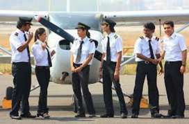 Male and female urgent airport job vacancy