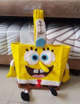 Tas anak sponge bob dan anjing