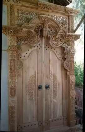 Bazar free ongkir tanpa dp  kusen pintu gebyok gapuro jendela ukir jat