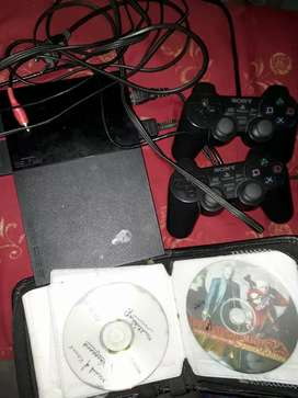 Brand new ps2 for sell 4 CD free