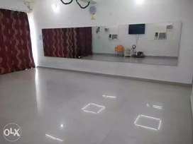 Hall on Rent for Classes/Dance/Aerobics/Tutions/Music, PER HOUR basi