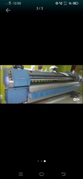 Flex printing machine Konika 512
