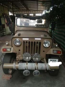 Mahindra Jeep 2.5L, 1980, Diesel