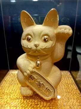 Patung kucing Hoki 923 kado souvenir