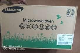 Microwave oven  ( seal packed) unused