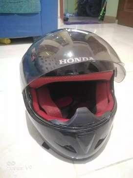 Helm full face honda racing