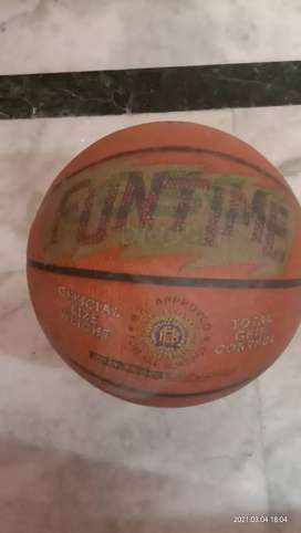 Cosco funtime size 7 basketball with pump