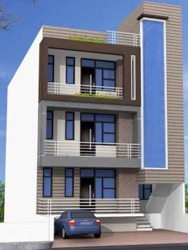 Spacious 3BHK Builder Floor with Broad Front in Indirapuram