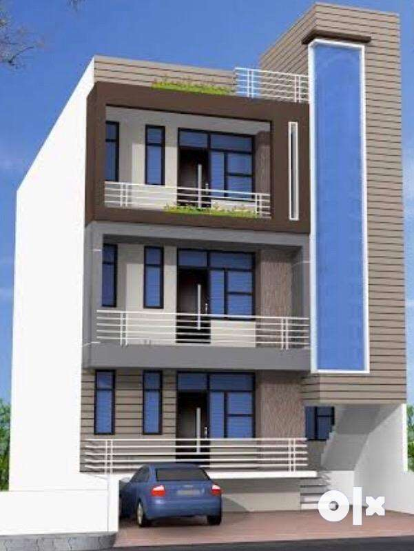 Spacious 3BHK Builder Floor with Broad Front in Indirapuram Gkhand 3 0