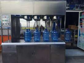 Damisiu perakitan depot air minum isi ulang stanles