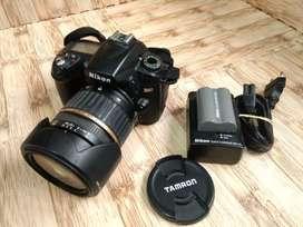 Kamera DSLR Nikon D90 Lensa Tamron 17-50MM