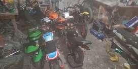 Jasa Service Motor Mini GP TRAIL Mesin Potong Rumput Datang Kerumah