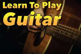 Learn Guitar teacher lessons classes in Lahore